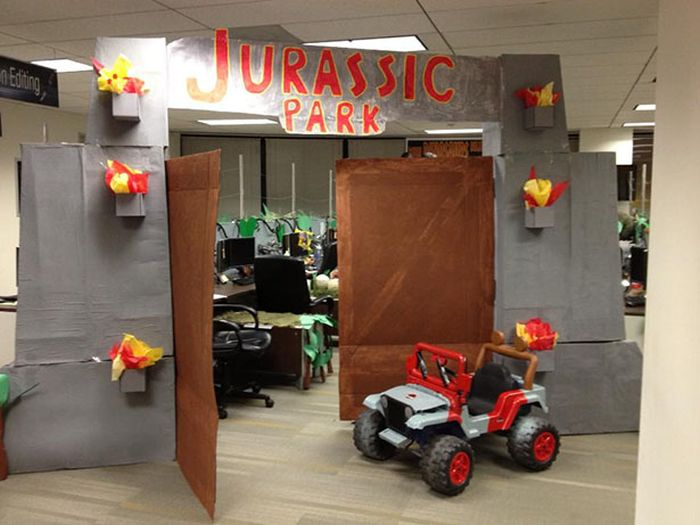 halloween office