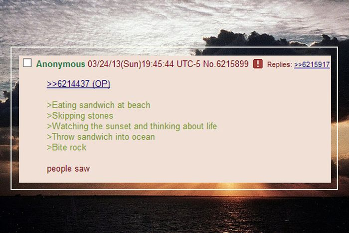Brilliant Things from 4Chan