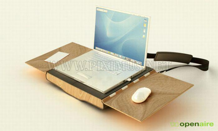 Laptop Case and Workstation in One
