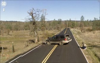 Google Street View Accidents