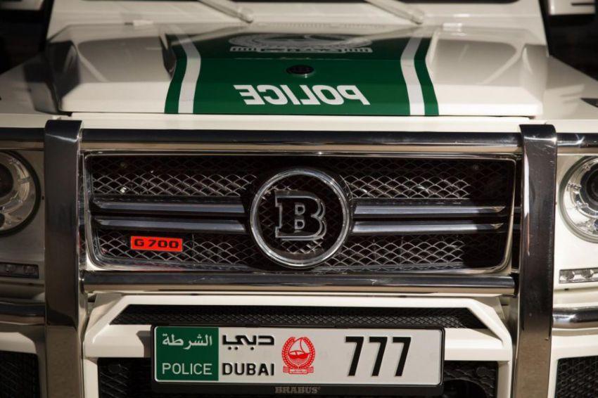 Brabus B63S for the police of Dubai