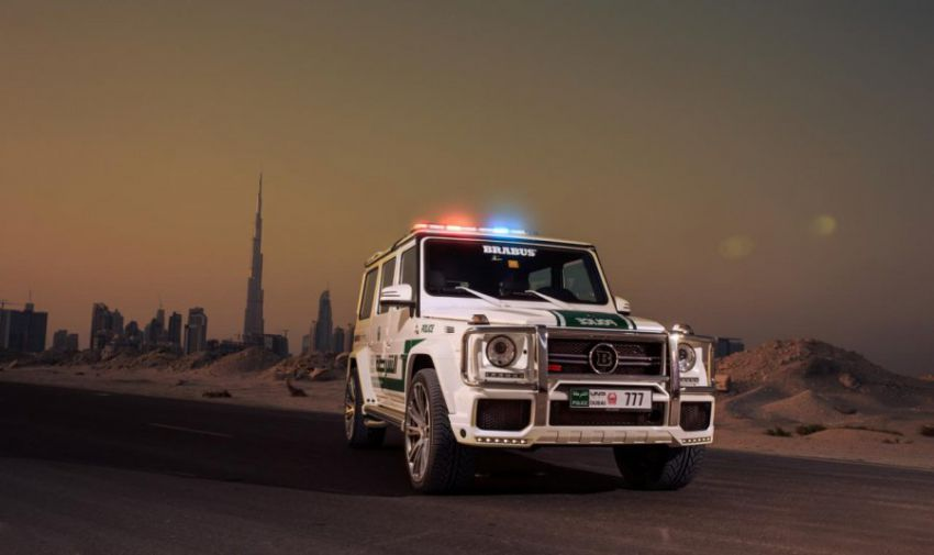 Brabus B63S for the police of Dubai
