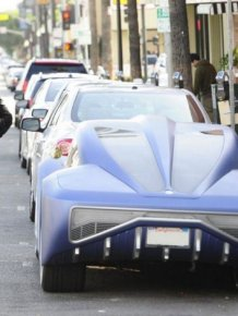 Will.I.Am and his unusual Coupe