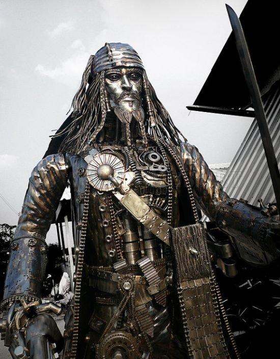 Jack Sparrow Statue
