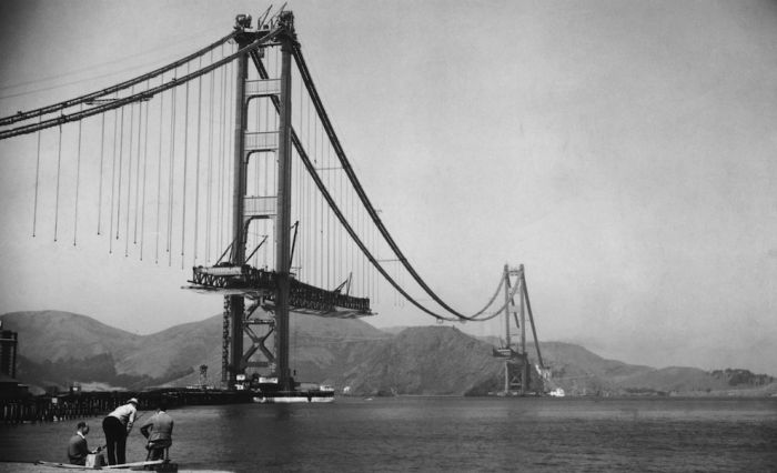 The Construction of the Golden Gate Bridge
