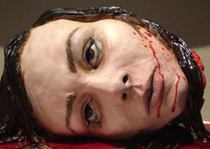 The Most Gruesome Wedding Cake