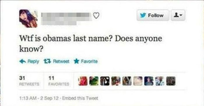 Stupid Twitter Questions