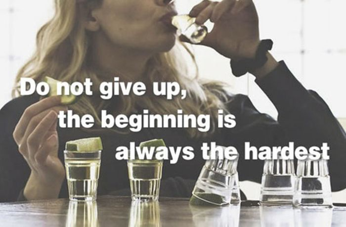 Fitness Quotes with Alcohol