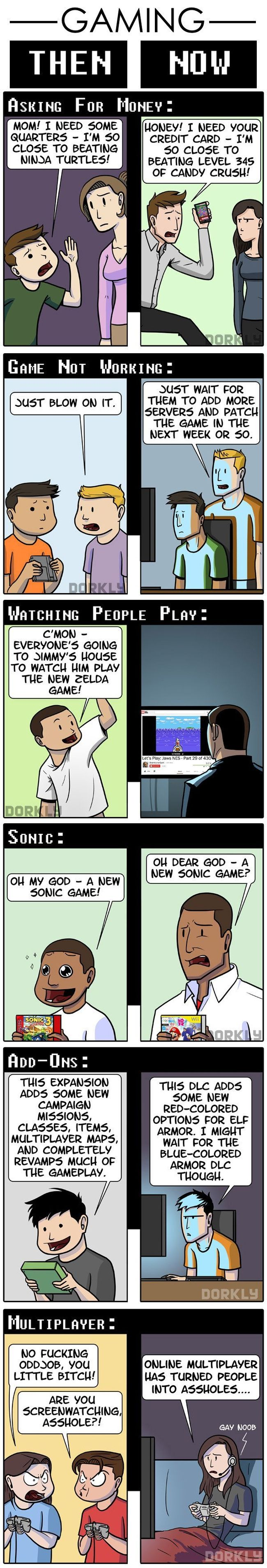 Gaming Then and Now, part 2