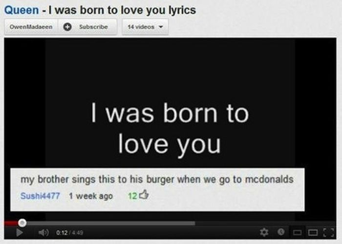 Funny Youtube Comments Part 15, part 15