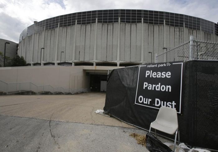 Abandoned Houston Astrodrome