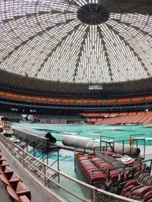 Abandoned Houston Astrodrome