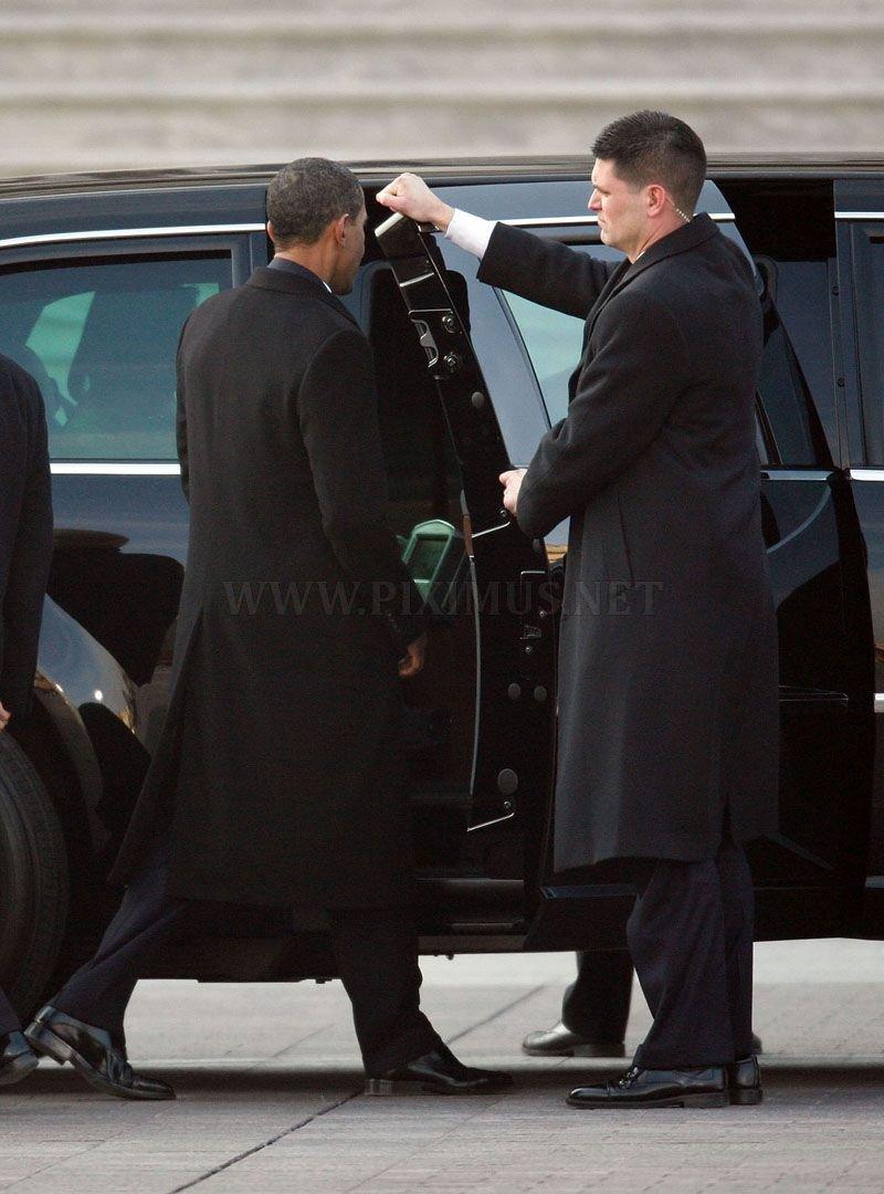 Obama's limousine