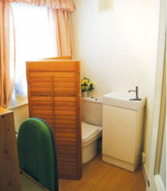 Room with a Toilet