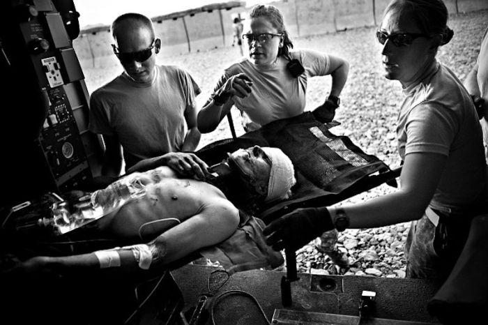 Medics in Afghanistan