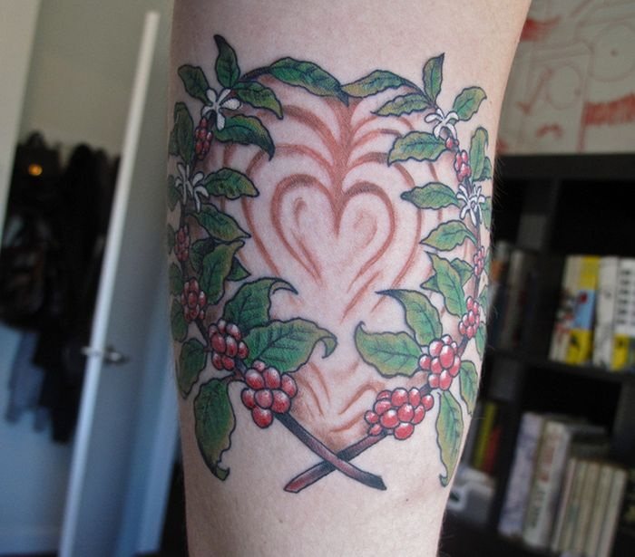 Tattoos For Coffee Lovers