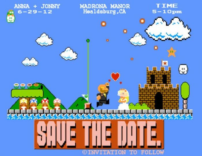Geeky Wedding Invitations, part 2