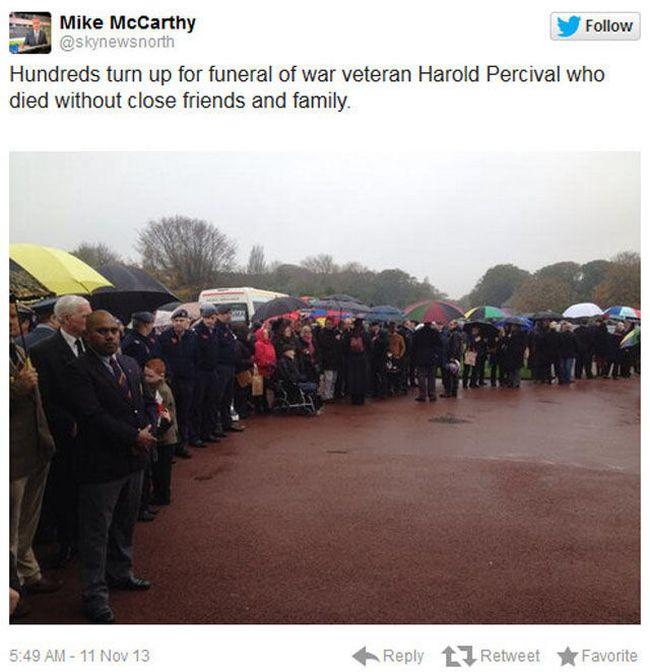 Veteran's Funeral