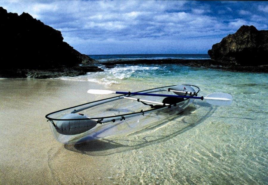 Amazing transparent boat