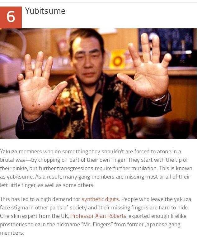 Facts About The Yakuza