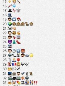 Movies in Emojis