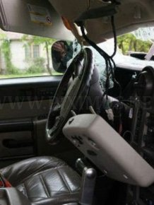 Drunk Woman Destroys Hummer H2