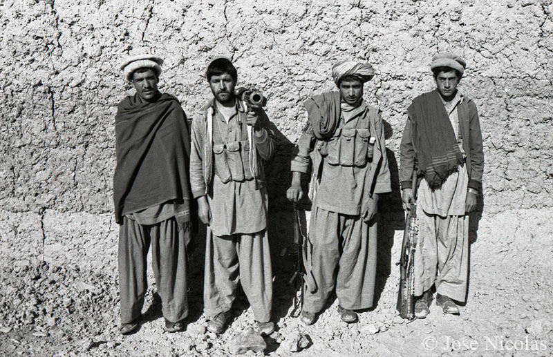 Mujahideens from  Afghan War