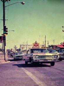 Cars in America in the 70s