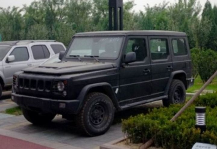 Chinese Hummer And G Class Vehicles