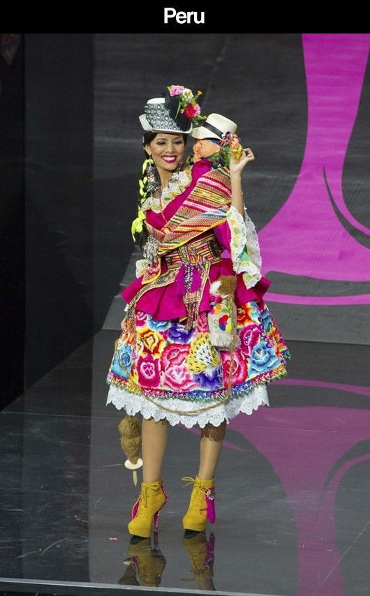2013 Miss Universe Contestants Wearing Their National Costumes
