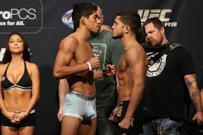 UFC 167 Weigh-In. Is It a Boner?