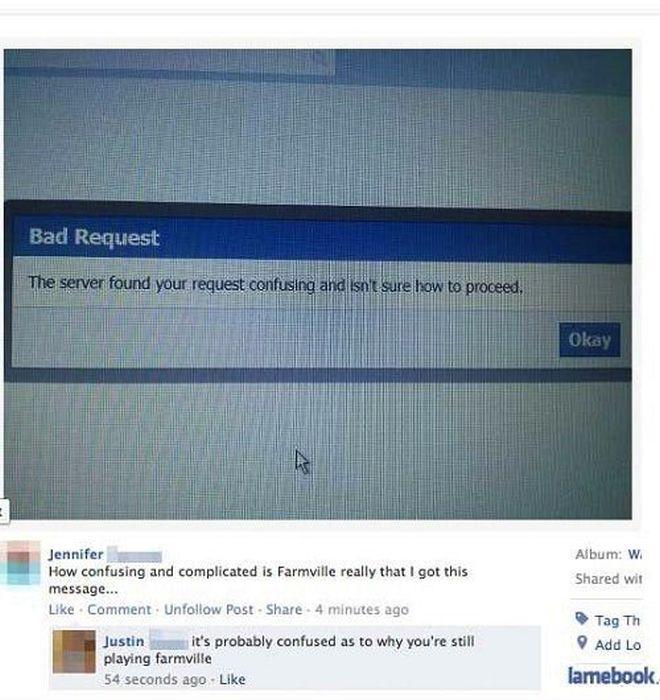 Stupid Posts on Facebook, part 4