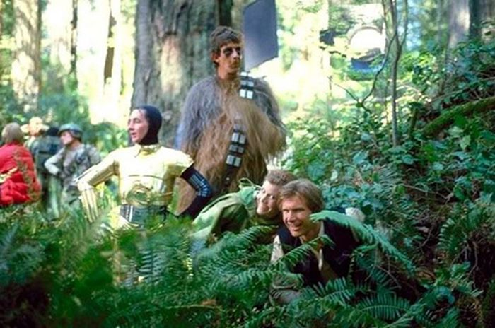 On the Set of the Star Wars Movies