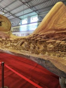 Great Wood Carving Art
