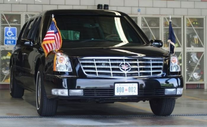 Cadillac One Limousine Of Us President Vehicles