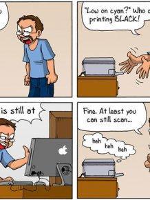 Why We Hate Printers
