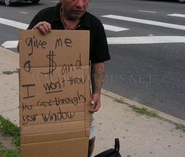 Creative Beggars