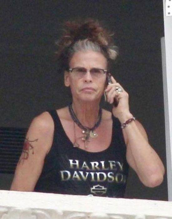 Steven Tyler Looks Like an Old Woman