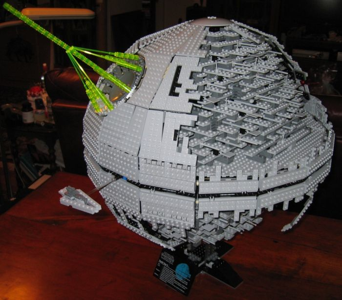 Made with Lego