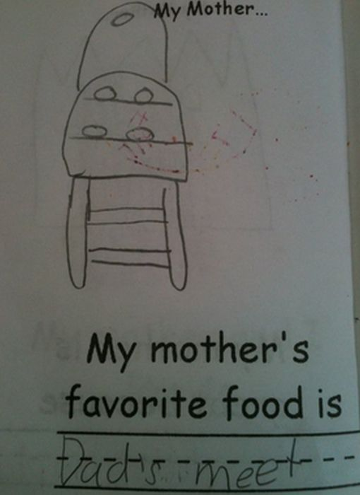 Inappropriate Children's Drawings