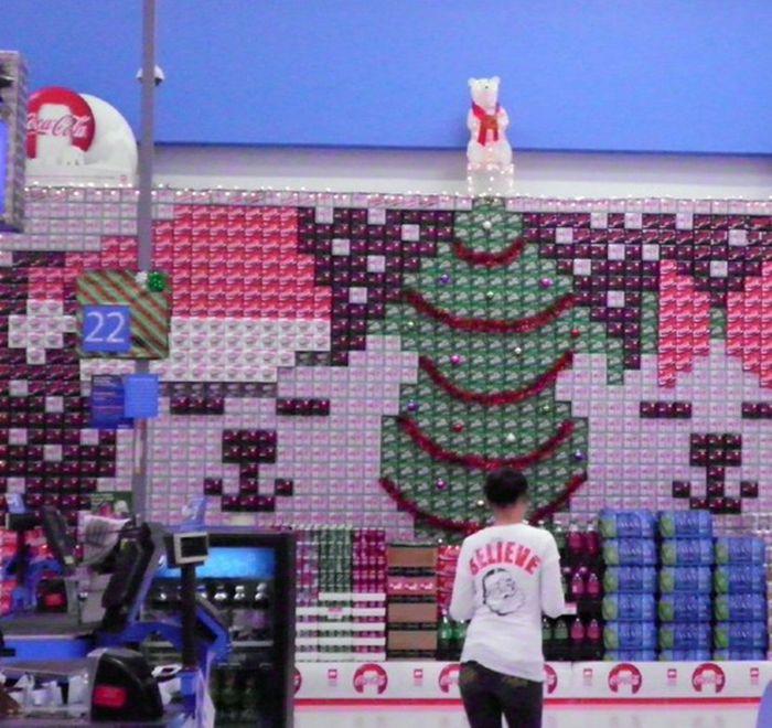Holiday Soda Displays