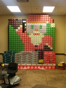 Holiday Soda Displays