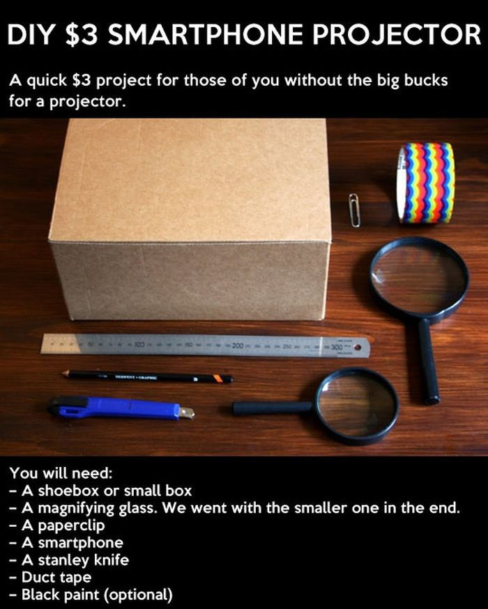 diy smartphone projector others