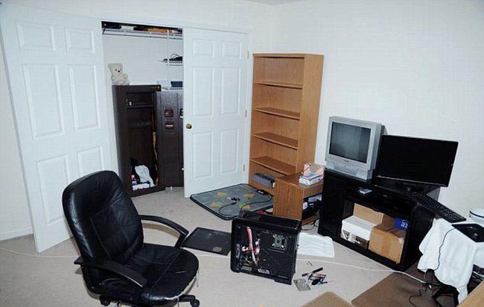 Inside the Bedroom of Adam Lanza