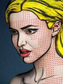Beautiful Face Paintings