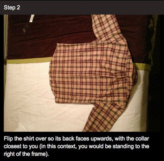 How to Fold Your Shirt Like a Professional