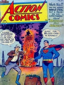 Old Comic Book Covers
