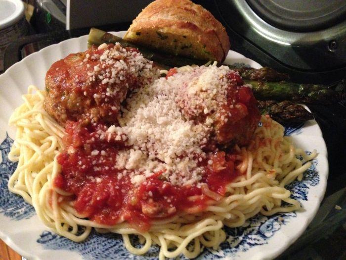Homemade Italian Dinner