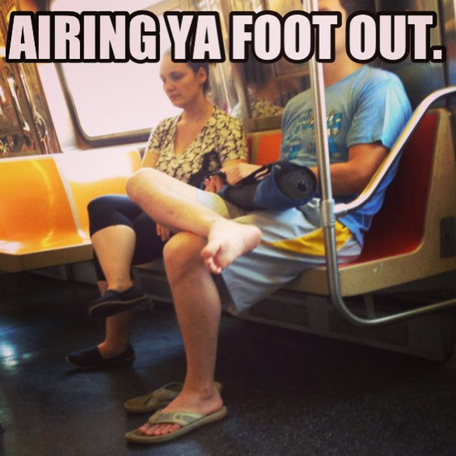 People Who Make Life in NYC Terrible, part 4