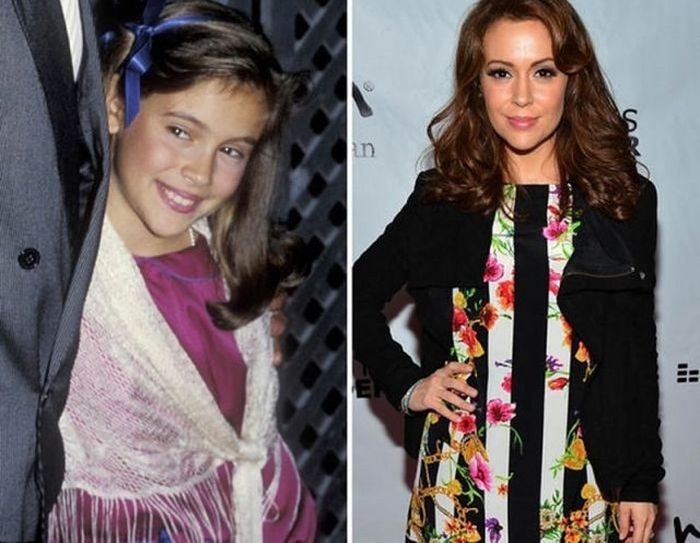 Celebrities Then and Now, part 7
